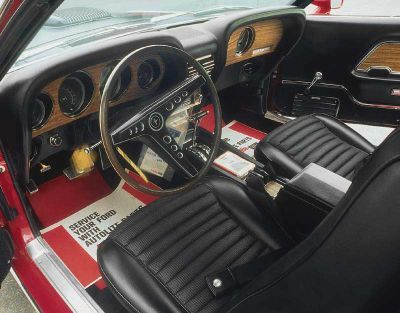 1969 ford mustang mach 1 428 cobra jet - 1969 Ford Mustang Interior
