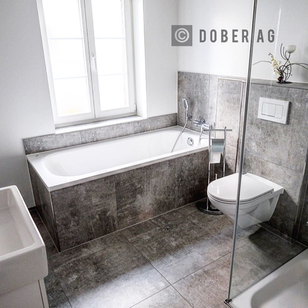 Installed By Dober Ag Badezimmer Bathroom Badezimmer Geberit Doberag Sanitar Sanitaranlagen Sanitary Sanitarinstallateu Bathroom Installation Bathtub