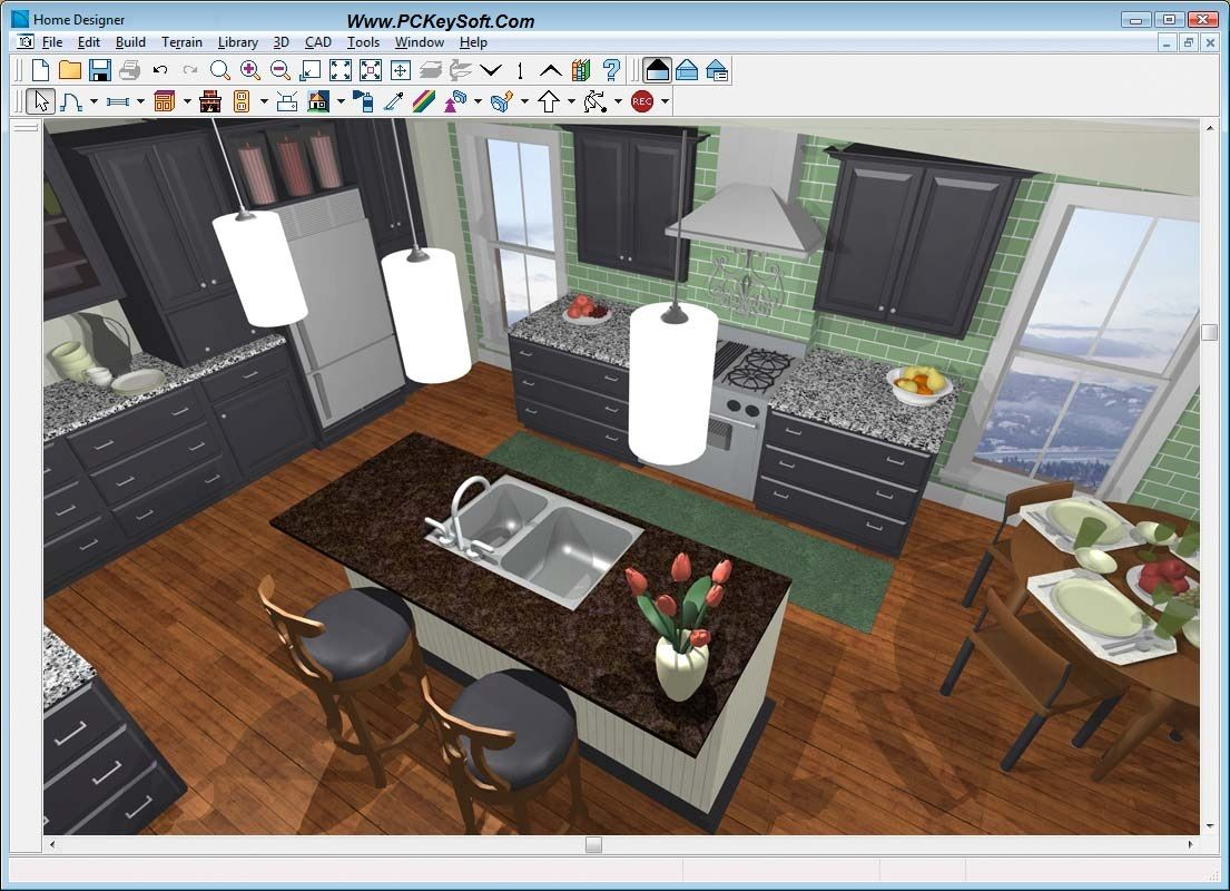 Pinpckeysoft On Kitchen Furniture Interior Design Software Pro Gorgeous Free Software Kitchen Design Design Ideas