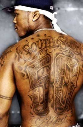 50 Cent Tattoos Buscar Con Google Mit Bildern Hip Hop Tattoo