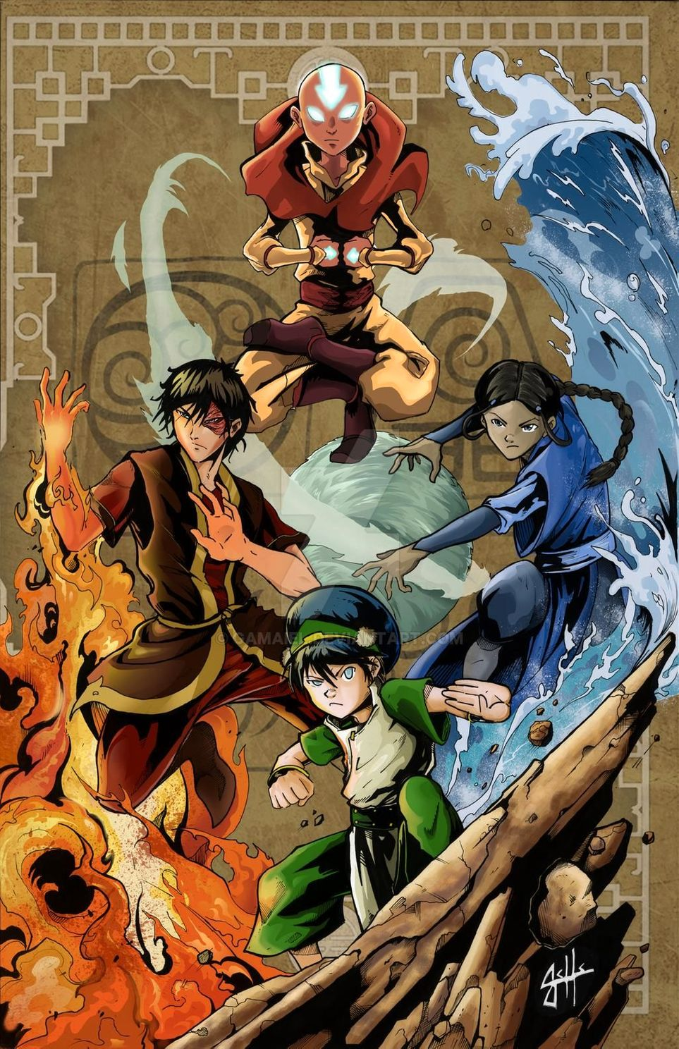 Photo of Avatar: The Last Airbender: 10 Bender Fan Art Pictures You Need To See