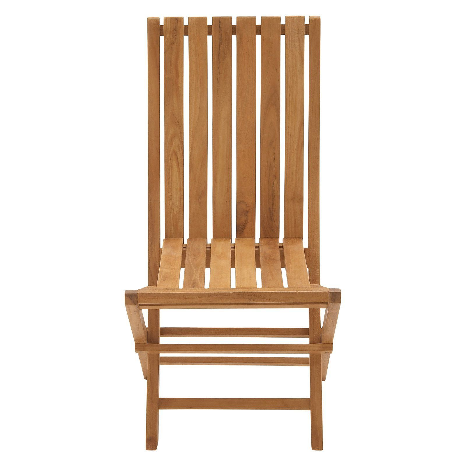 Outdoor DecMode Teak Folding Chair - Set of 2 - 92455 | Products ...