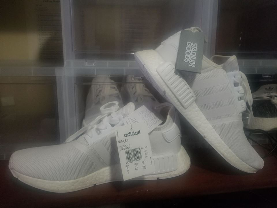 999c5eb10e85 Adidas NMD R1 Triple White - Deadstock - Never used  fashion  clothing   shoes  accessories  mensshoes  athleticshoes (ebay link)