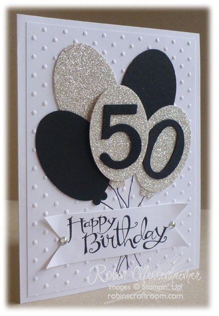 50th Birthday Card Craft Birthday Cards Birthday Cards Diy