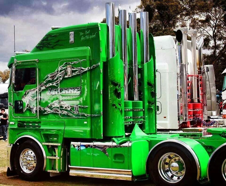 Truck Cool Image Semi Remorque Camion Truck Camion