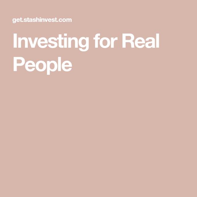 Stash—Investing for real people #financenestegg