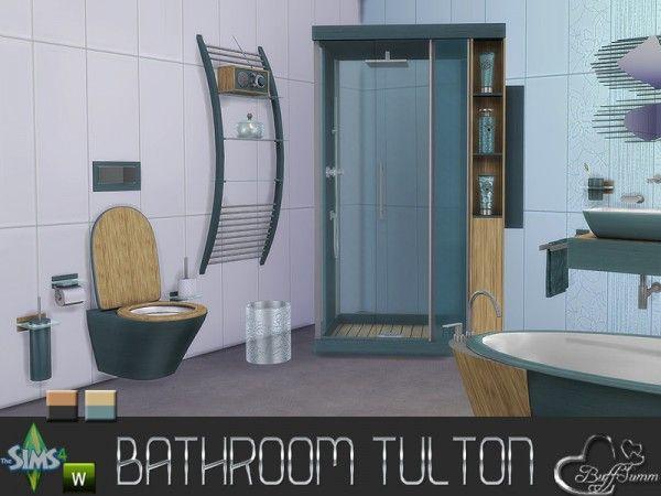 Bathroom Design Games Inspiration The Sims Resource Tulton Bathroombuffsumm  Sims 4 Downloads Inspiration