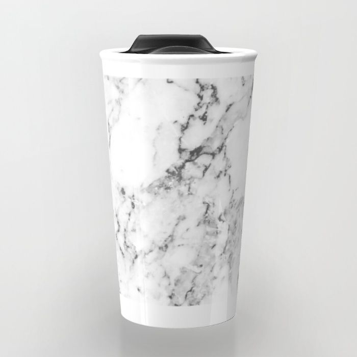 821294e39ee Marble Travel Mug | ☆ Water Bottles ☆ | Marble, Mugs, Travel mug