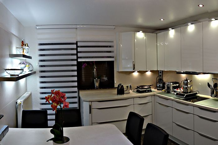 rollo k che blackandwhite macht euer zuhause sch ner mit unseren rollos we rollos. Black Bedroom Furniture Sets. Home Design Ideas