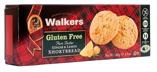 This crumbly shortbread combines the best of traditional Scottish baking with the exotic tang of Lemon and Stem Ginger.