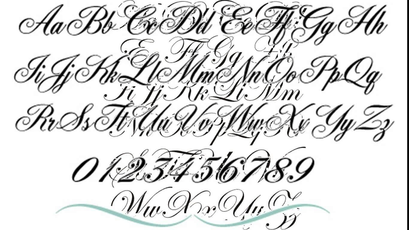 Attractive Tattoo Font Generator Handwritten Tattoo Font Generator Tattoo Fonts Cursive Lettering Tattoo Fonts Generator