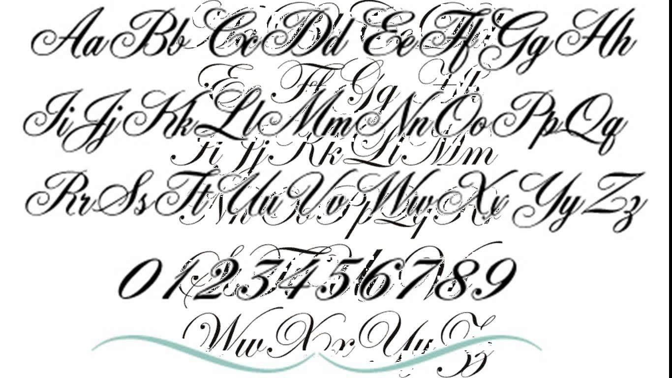 Cursive font maker ideas in 2021