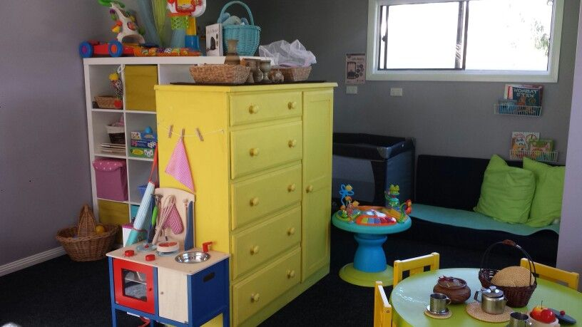 Family Day Care Room Set Up Using Furniture To Define And Devide Spaces Home Daycare Family Day Care Preschool Rooms