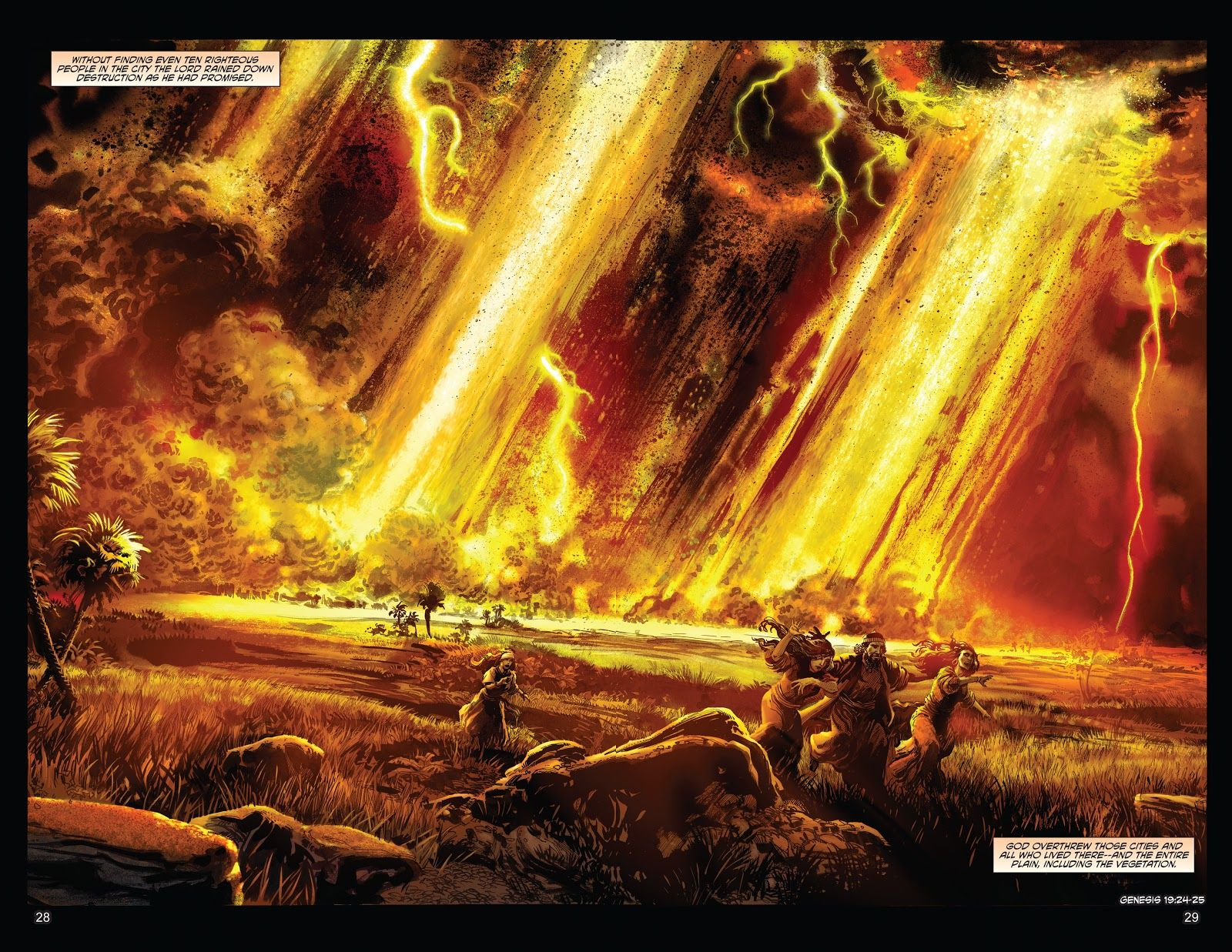 Genesis 19 Sodom and Gomorrah The Kingstone Bible Issue #2 #2