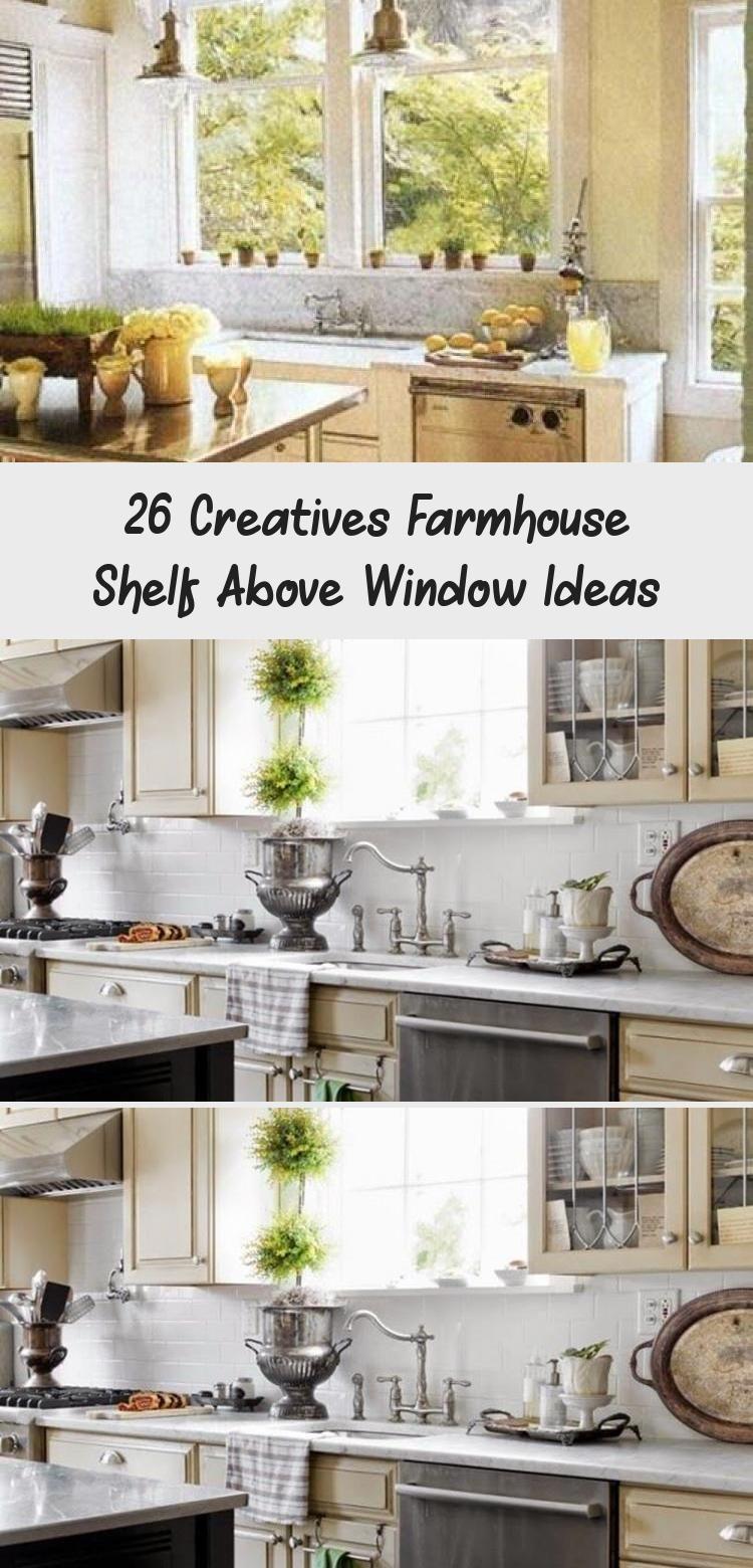26 creatives farmhouse shelf above window ideas small kitchen redo shelf above window above on farmhouse kitchen window id=62307