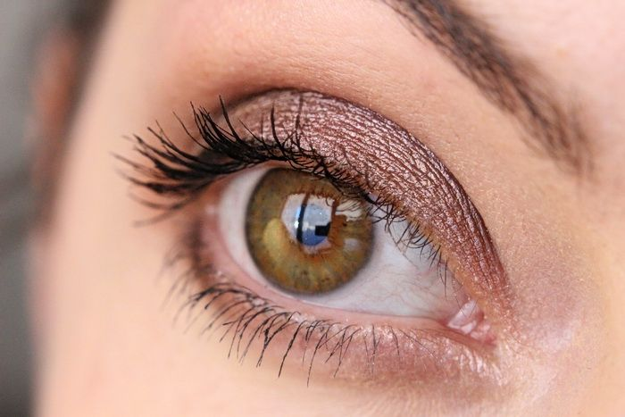 Metallic Augenmakeup