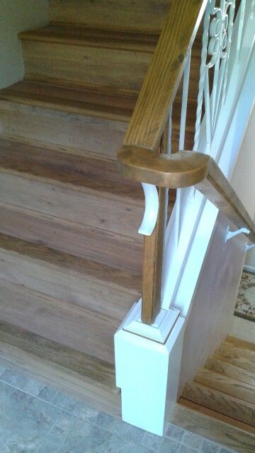 DIY staircase modification and remodel