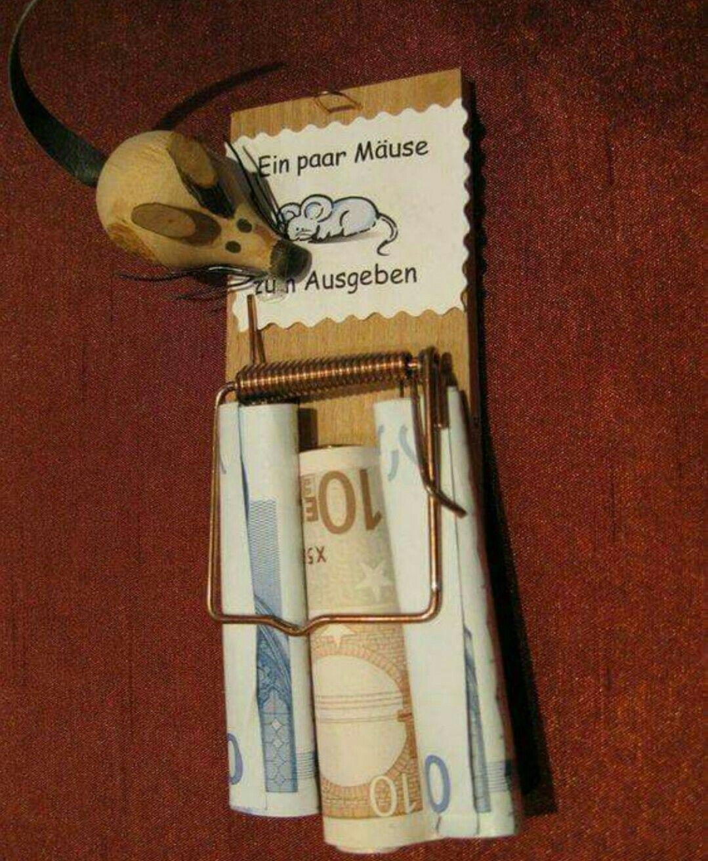 Ein paar Mäuse   basteln   Pinterest   Mäuse, Geldgeschenke und Paar