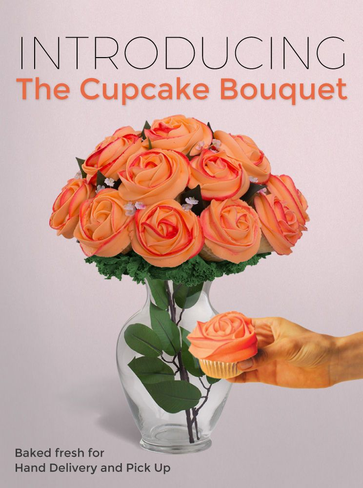 Flower & Cupcake Bouquets for Delivery.   Mass Consumption ...