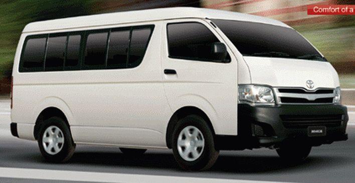 12 Seater Bus Rental In 2020 Toyota Hiace Luxury Van Dubai Airport