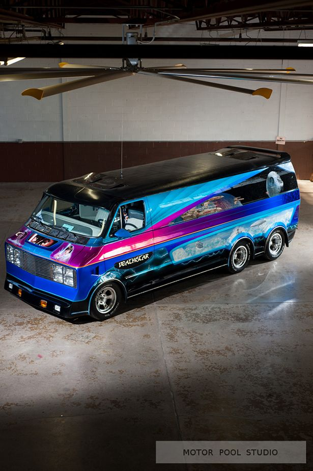 Deathstar I Remember Goin On Van Runs As Kid Seein This