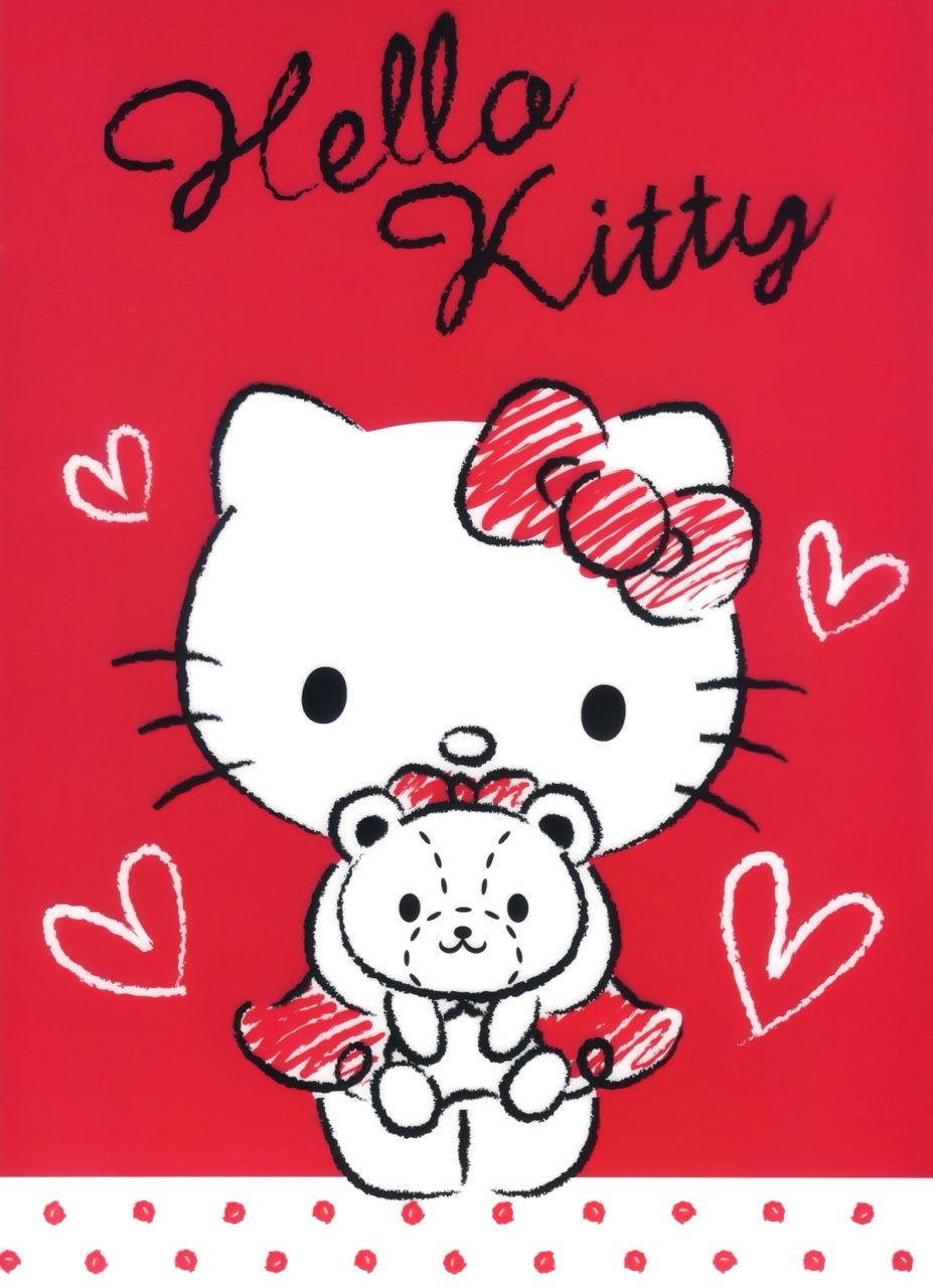 Hello Kitty And Dear Daniel Coloring Pages : Hello kitty u dear daniel pinterest