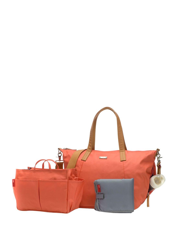 05b8e159a251 STORKSAK NOA DIAPER BAG - ORANGE.  storksak  bags  baby bags ...