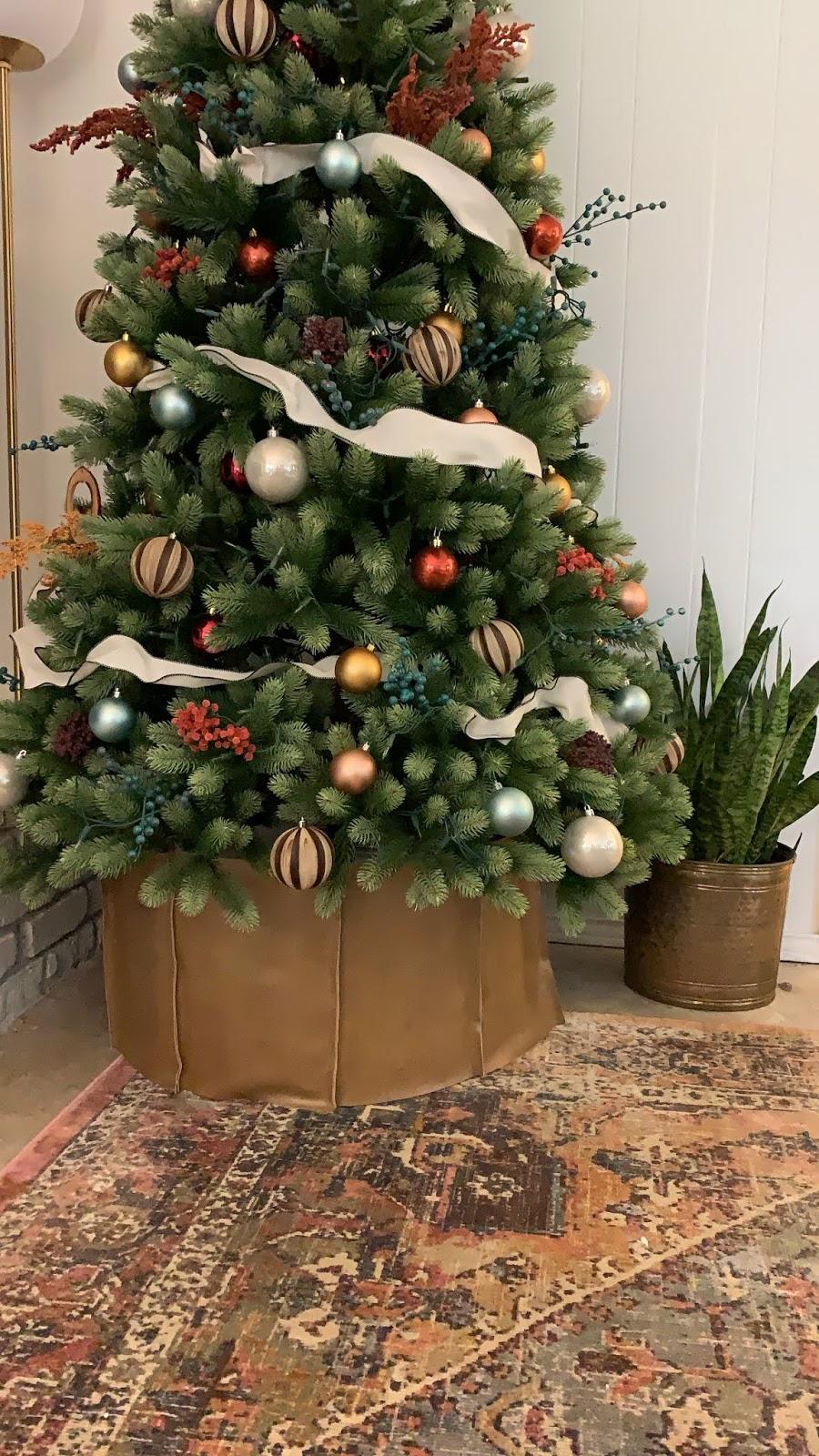 Diy Christmas Tree Collar Diy Christmas Tree Christmas Diy