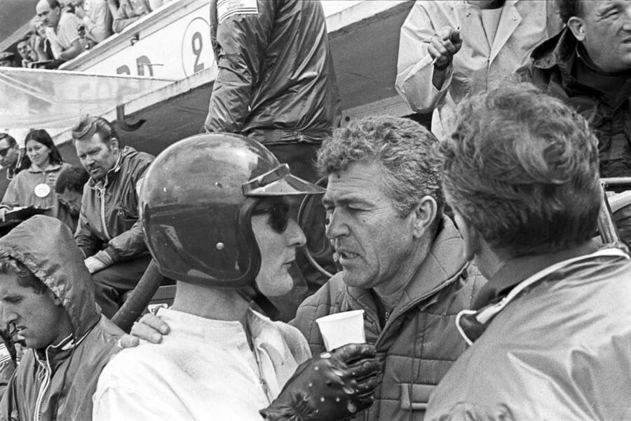 Pin By Mark Koppen On Sports Car Racing Ken Miles Carroll Shelby Le Mans