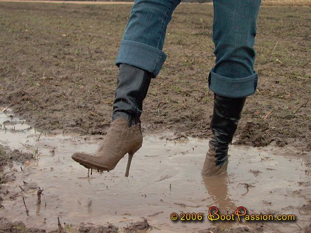 My idea of the perfect muck boots