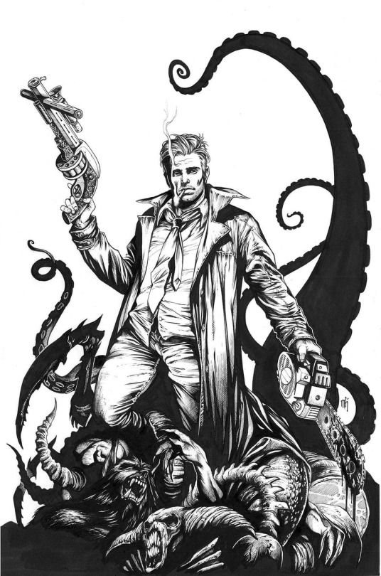 John Constantine Mike Krome   John Constantine/Hellblazer   Cómics ...