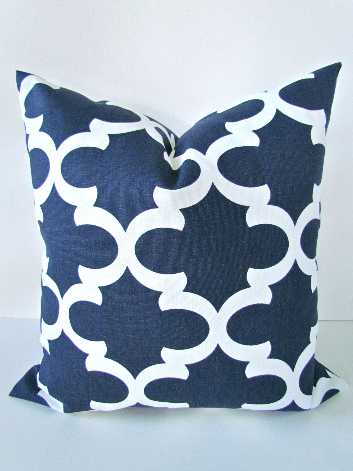 BLUE PILLOW Covers Navy blue Pillows Blue Decorative Throw