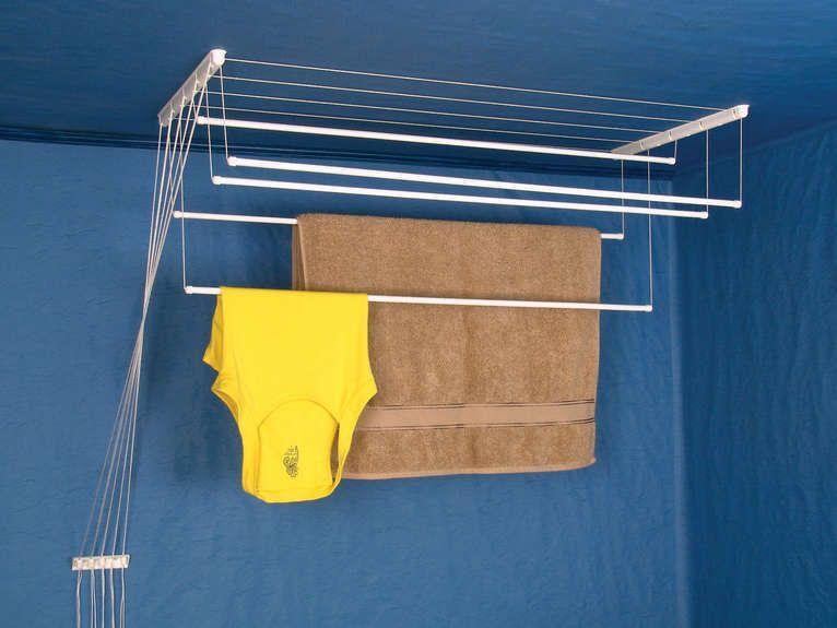 details zu w schetrockner 1 00 2 00 m deckentrockner w schest nder w sche trockner. Black Bedroom Furniture Sets. Home Design Ideas