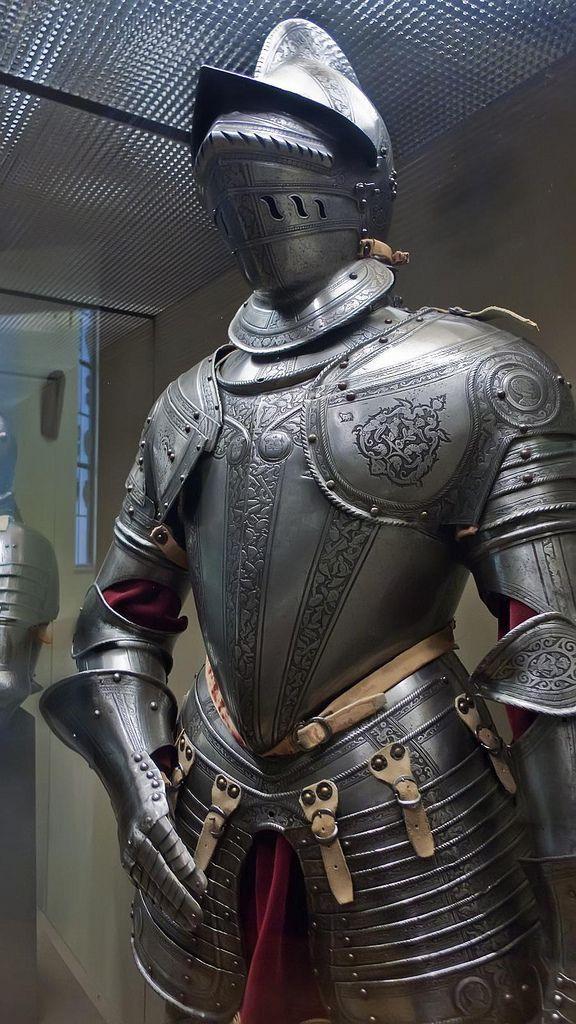 Armor 1500-1600 borgunet helm