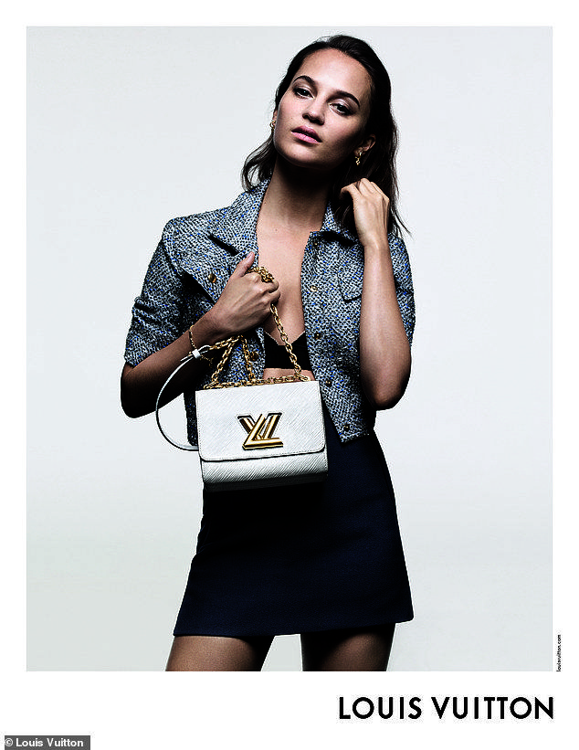 9abd7cd8f2a Emma Stone joins Alicia Vikander in new campaign for Louis Vuitton ...