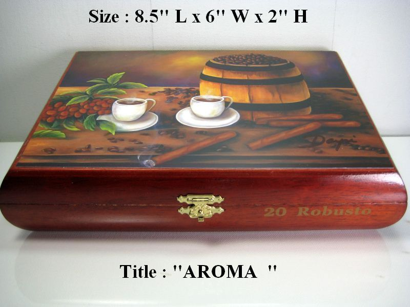 Details about best gift humidor cigar box with