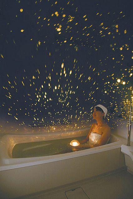 画像 お風呂で満天の星空を眺めてストレス解消 ホームスタースパ