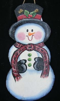 picture about Tole Painting Patterns Free Printable identify Absolutely free Xmas Tole Portray Habits Snowman Tole