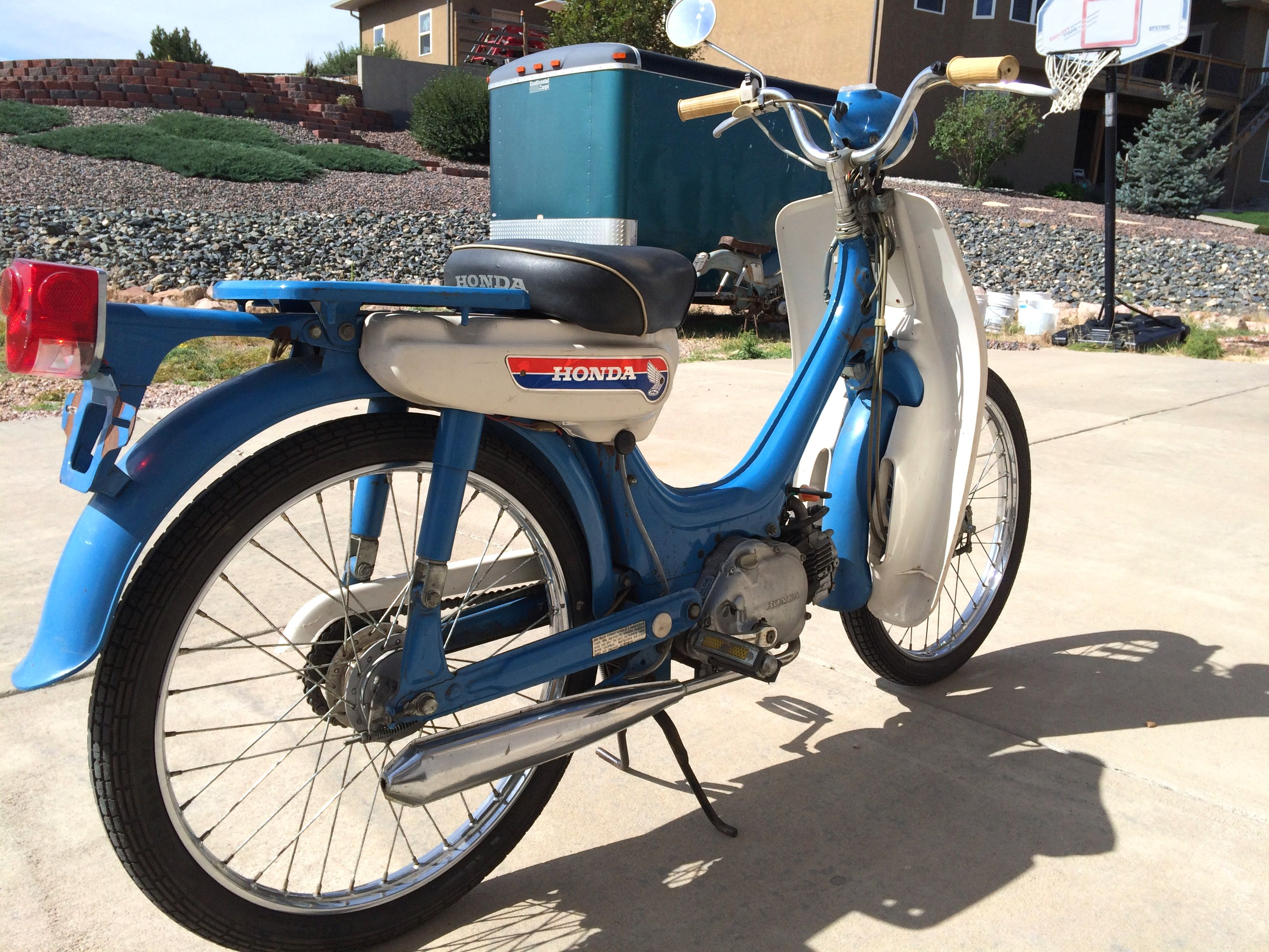 1969 Honda PC50 Moped w/Variable ratio transmission