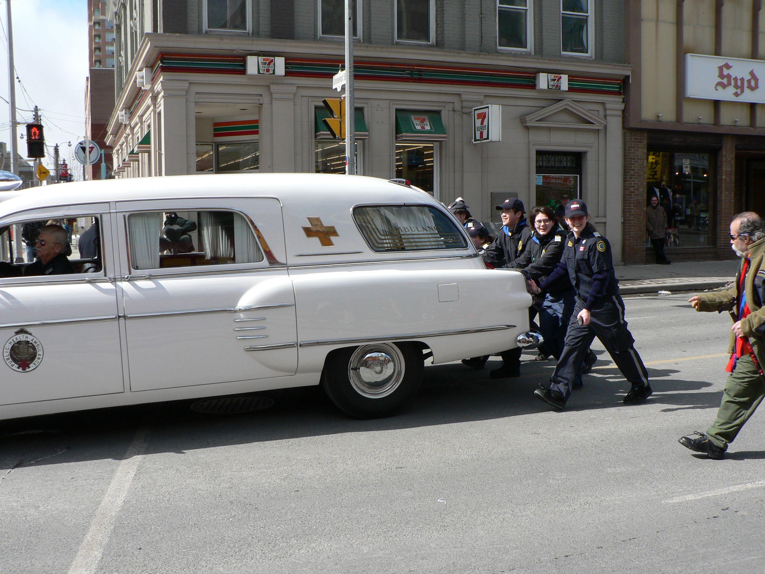 vintage ambulance photos as assembled by Kenneth Burdyny ...
