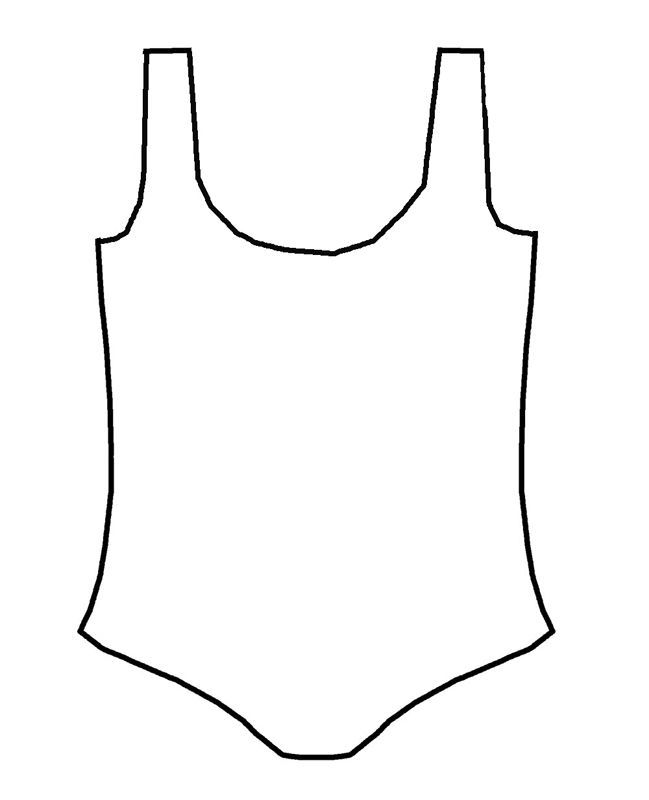 leotard outline for ballet art project Favorite Recipes - project outline template