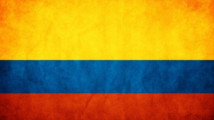 Bandera De Colombia Bandera De Colombia Bandera De Bogota Pintura Del Espacio