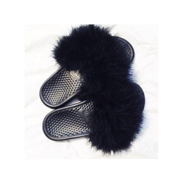 recogido ahorros fantásticos Venta caliente 2019 Nike Fur Slides Custom Nike Flip Flops Nike Fur Sandals Slipper ...