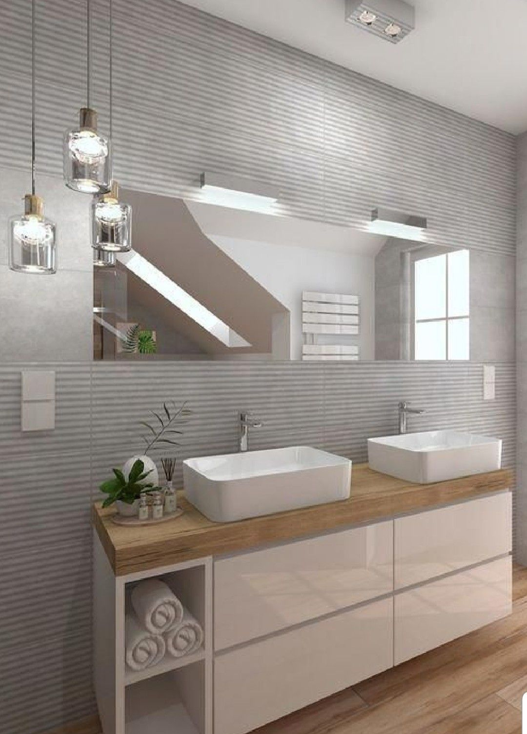Badezimmerinnenaubtattung Badezimmer Badmobel Badezimmermobel Badmobel Set Spiegelschrank Bad In 2020 Bathroom Interior Design Bathroom Interior Bathroom Design