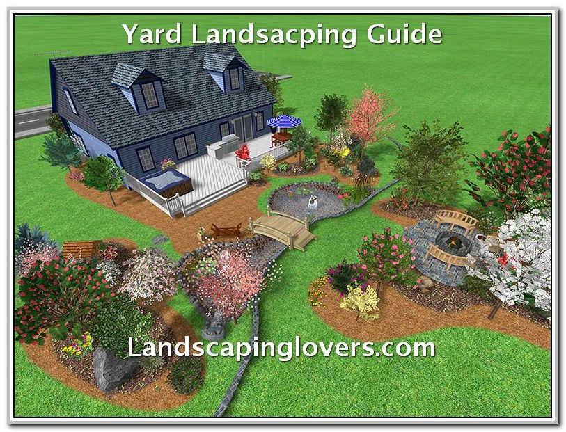 Is Hiring A Landscaper Necessary Large Backyard Landscaping