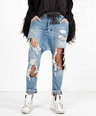 64dae187059 HARTLAND EMPIRE HAREM JEANS Harem Jeans