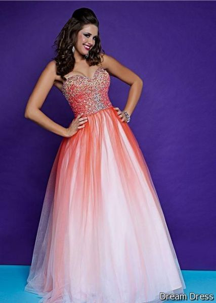 Nice Pink Ombre Prom Dresses 2017 2018 Cars World Pinterest
