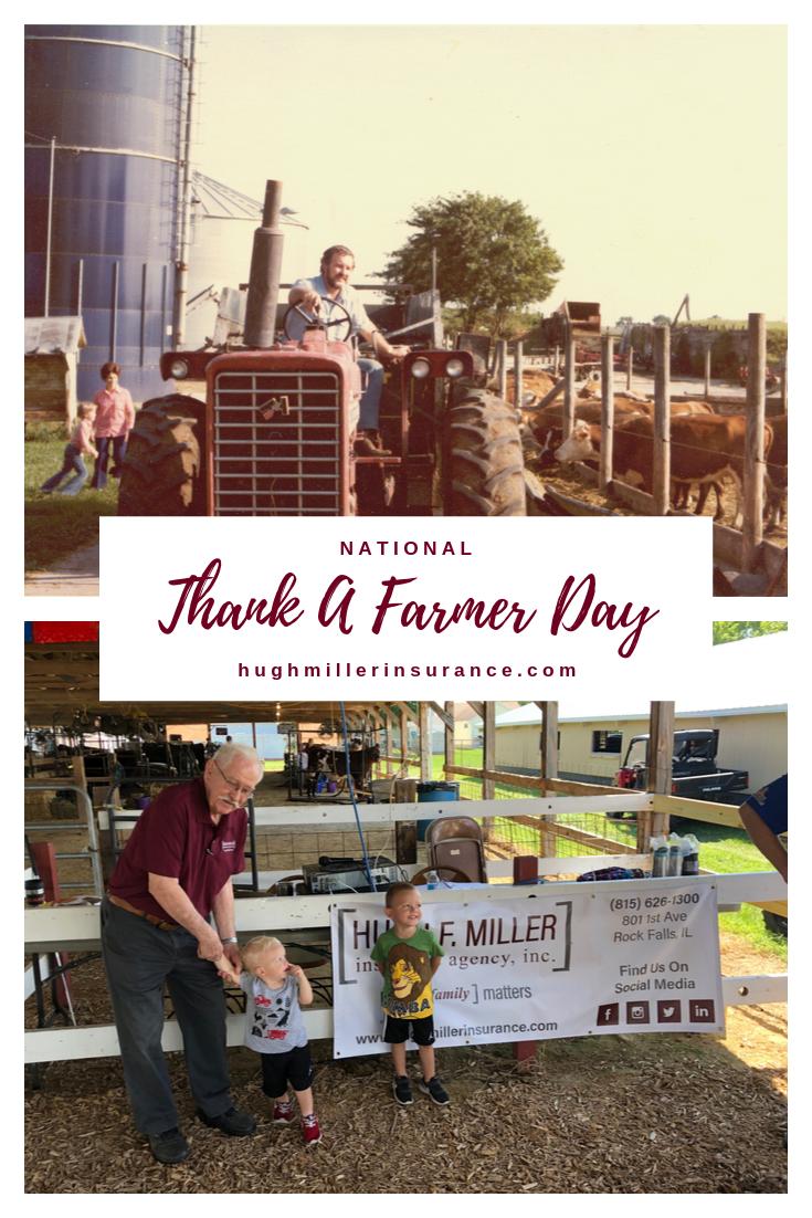 Nathional Thank A Farmer Day Farmers Day Farmer Family Matters