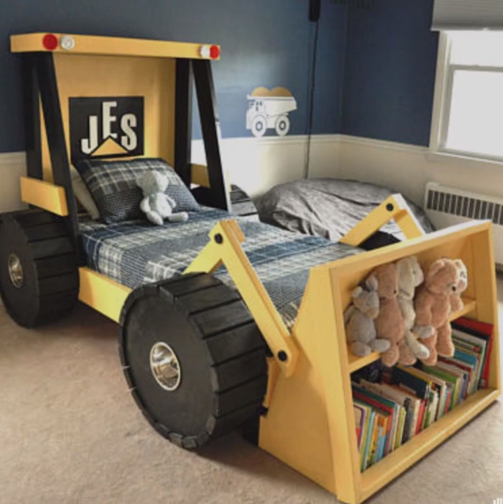 Tractor Bed Arthur Tractor Bed Kid Beds E Room Themes