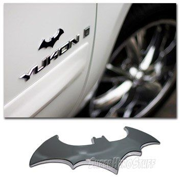 Batman Metal Symbol Adhesive Car Emblem Batman Je Suis Batman
